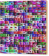 Eyestrain Wood Print