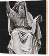 Ezekiel  Wood Print