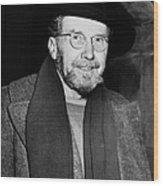 Ezra Pound (1885-1972) Wood Print