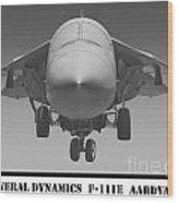 F-111e Aardvark Wood Print