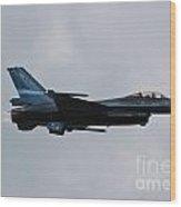 F-16 Vortex Wood Print