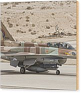F-16i Sufa Fighting Falcon Wood Print