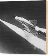 F-4 Phantom Fighter Jet Wood Print