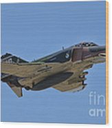 F-4 Phantom II Wood Print