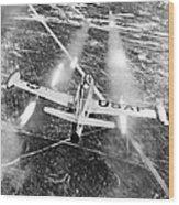 F-84 Thunderjet, 1949 Wood Print