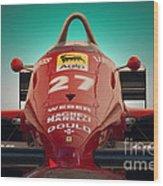 1985 Ferrari 156/85 F1 Nose Wood Print