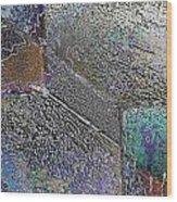 Facade 11 Wood Print