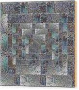 Facade 12 Wood Print