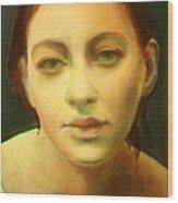 Face 3 Wood Print