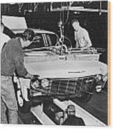 Factory: Chevrolet, 1960s Wood Print