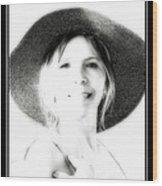 Faded Photograph Wood Print