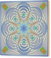 Fading Geometrics Wood Print