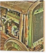Fageol Tractor 2 Wood Print