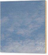 Fair Skies Wood Print