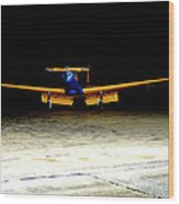 Fairchild Pt -19 Wood Print by Steven Digman