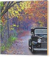 Fall 32 Wood Print