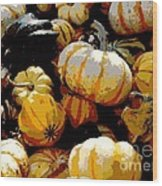 Fall Bounty Wood Print