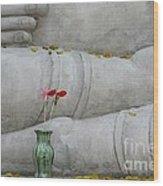 Fall Buddha #1 Wood Print