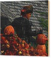 Fall Celebration Wood Print