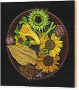 Fall Colors Wood Print by J Arthur Davis