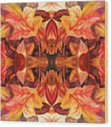Fall Decor Wood Print