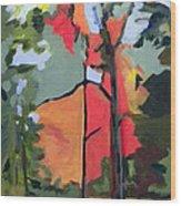 Fall Edge Wood Print