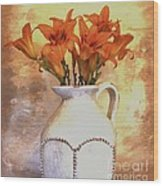 Fall Flowers For You Wood Print