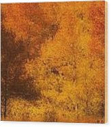 Fall Glory Wood Print