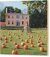 Fall In Maine Wood Print