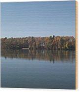 Fall On Beeds Lake Wood Print