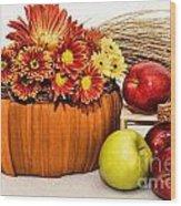 Fall Pleasures Wood Print