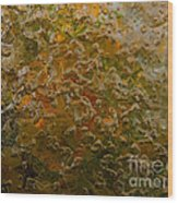 Fall To Pieces Wood Print