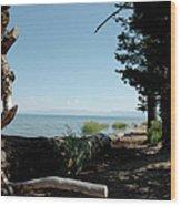 Fallen For Lake Tahoe Wood Print