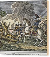 Fallen Timbers Battle Wood Print