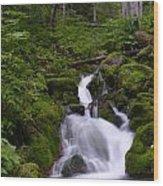 Falls Creek IIi Wood Print