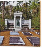 Family Plot Wood Print