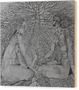 Family Tree Wood Print
