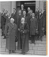 Famous Inventor, Alexander Graham Bell Wood Print