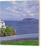 Fanad Head Lighthouse, Co Donegal Wood Print