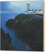 Fanad Head Lighthouse, County Donegal Wood Print