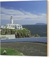 Fanad Lighthouse, Co Donegal, Ireland Wood Print