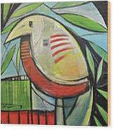 Fancy Bird Wood Print