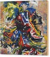 Fancy Dancer I Wood Print