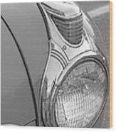 Fancy Headlight Wood Print