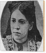 Fanny Jackson Coppin, African-american Wood Print