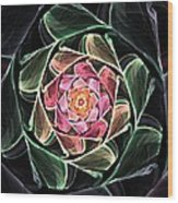 Fantasy Floral Expression 111311 Wood Print