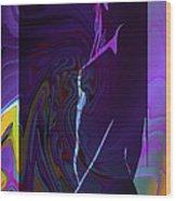 Fantasy Girl Wood Print