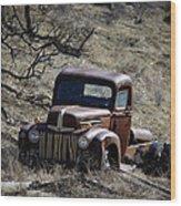 Farm Fresh Ford Wood Print