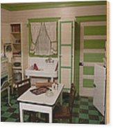Farmhouse Kitchen Wood Print