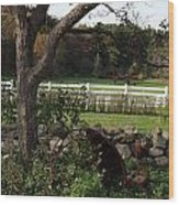 Farmland Wood Print